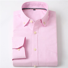 Men s Fitted Button Collar Solid Non Iron Dress Shirt Without Pocket Smart Casual Long Sleeve