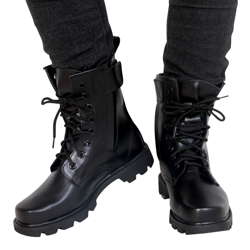 Fashion Army Genuine leather Boots Men Military Boots Tactical Combat Boots Waterproof Summer/Winter Desert Boots Size 35 46