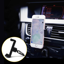 360 degrees Universal Car Air Vent Mount Cradle Cell Mobile Phone Stand Holder for iPhone Samsung phone Navigator bracket GPS