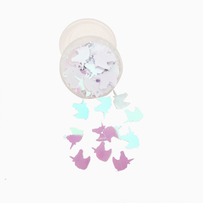 Iridescent Butterflies Wedding Party Table Confetti