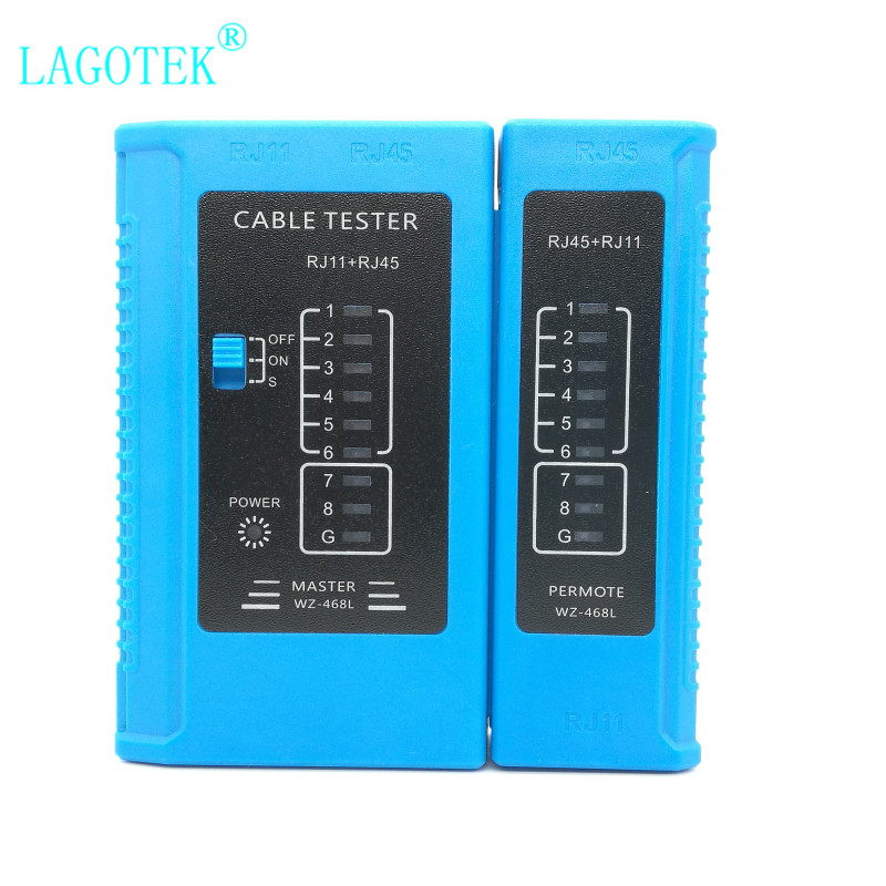 Brand New Professional RJ45 Cable lan tester Network Cable Tester RJ45 RJ11 RJ12 CAT5 CAT6 UTP LAN Cable Tester Networking Tool