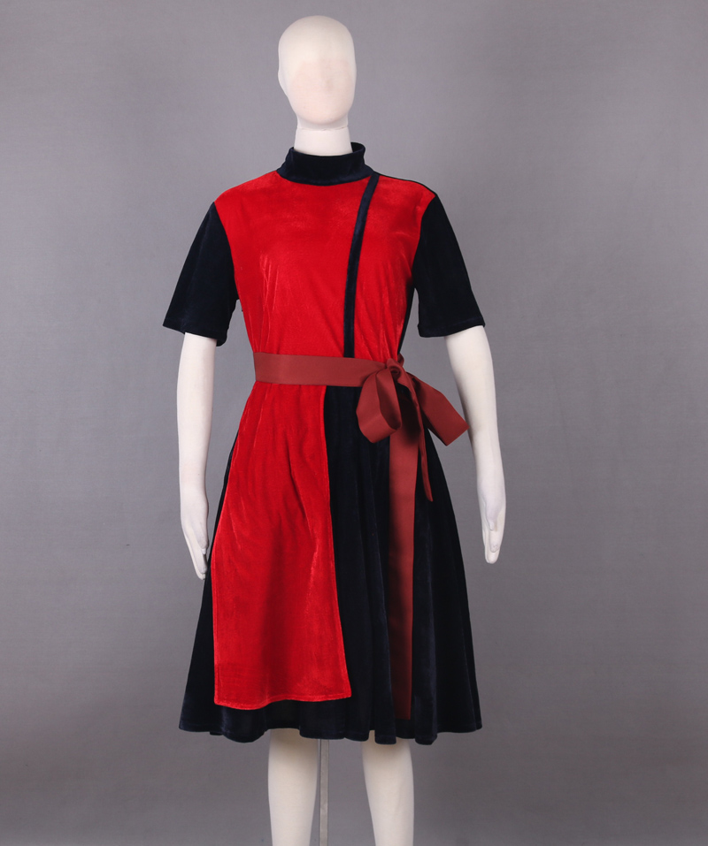 Deadpool Cosplay Costume Adult WOMEN'S DEADPOOL COSTUME DRESS LOLITA DRESS CUSTOM MADE