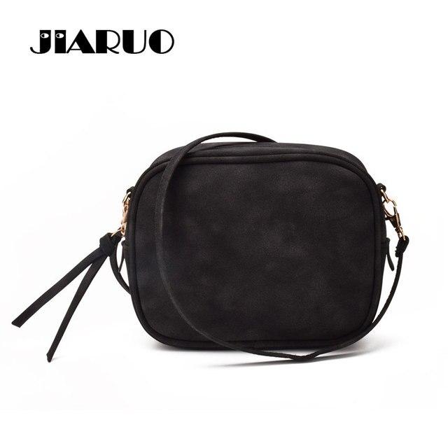 c3ddc5f3282c JIARUO ежедневно мини-клапаном женская кожаная сумка маленькая сумка через плечо  сумка женская сумочка кошелек
