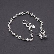 Crown Anchor Skull Bracelet