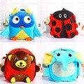 New arrival children plush cartoon bags Cute 3D animal Plush Backpack school Shoulder Bag for kindergarten girl baby Snack bag
