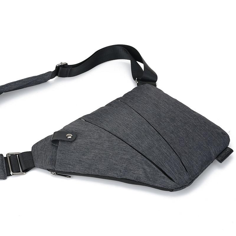 bolsa de nylon organizador armazenamento Feature 2 : Male Chest Bag