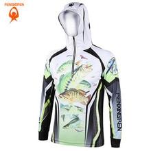 2018 Men Women Hiking climbing Anti UV Breathable Quick drying Professional Clothes Digital Printing Fishing Sweatshirts