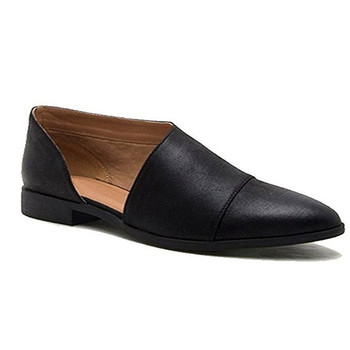 Women Flats Summer Shoes Slip On Flat Heel PU Leather Loafers Point Toe Fashion Lady Flats Causal Shoes Soft Leather Shoes womens flats shoe woman leather flat shoes fashion hand sewn leather loafers female hole hole shoes women flats slip on spring