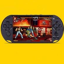Venta caliente 5 pulgadas de Mano Juego de puzzle Niños Consola Gamepad Quad Core IPS Screen Tablet PC 8 GB RAM Con cámara MP4/5
