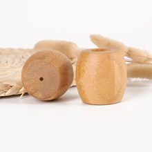 Natural Bamboo toothbrush Base Environmental wood Portable bamboo toothbrush cleaning Bases Oral Care for traveling wholesale