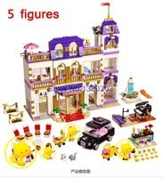 10547 BELA Girls Friends Heartlake Grand Hotel Building Block Figures Model DIY Bricks Toys Gift Compatible