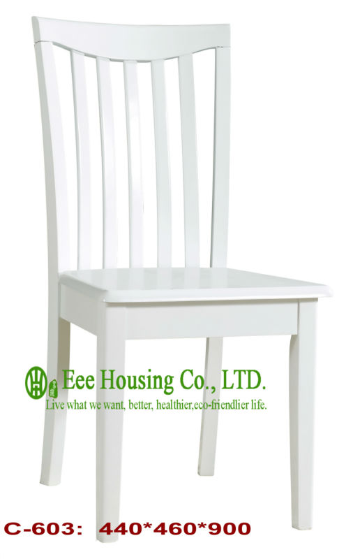C-603 White  Luxurious Solid Dining Chair,Solid Wood Dinning Table Furniture With Chairs/Home Furniture