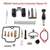 40mm Motorcycle Carburetor Repair Rebuild Kit Set For PWK KEIHIN OKO Spare Jets