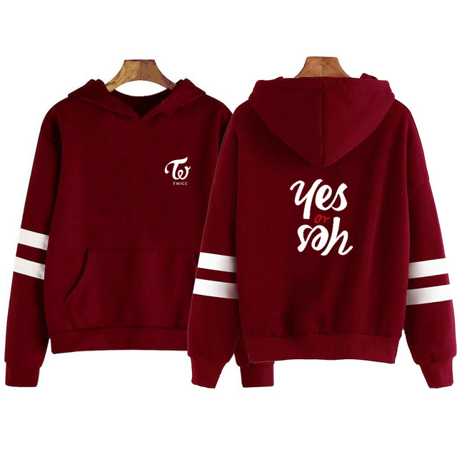 New Kpop TWICE Return to the New album Yes or Yes Sweatshirt Suit The Autumn long