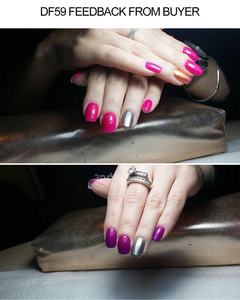 Top Marke UV Gel Nagellack Farbwechsel Glossy Gel Camouflage Basis ...