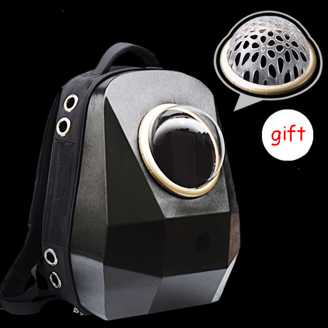 9f87eb292e5 Luxury Geometry Diamond Carrying Bag for Dog Cat Puppy Space Pet Bubble  Backpack Travle Astronaut Flight Outdoor Transport Crate