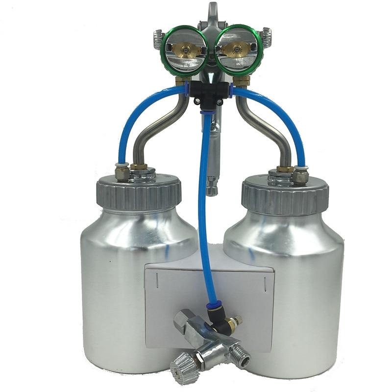 SAT1200 nagynyomású airbrush autófesték spray kettős fúvóka - Elektromos kéziszerszámok - Fénykép 1