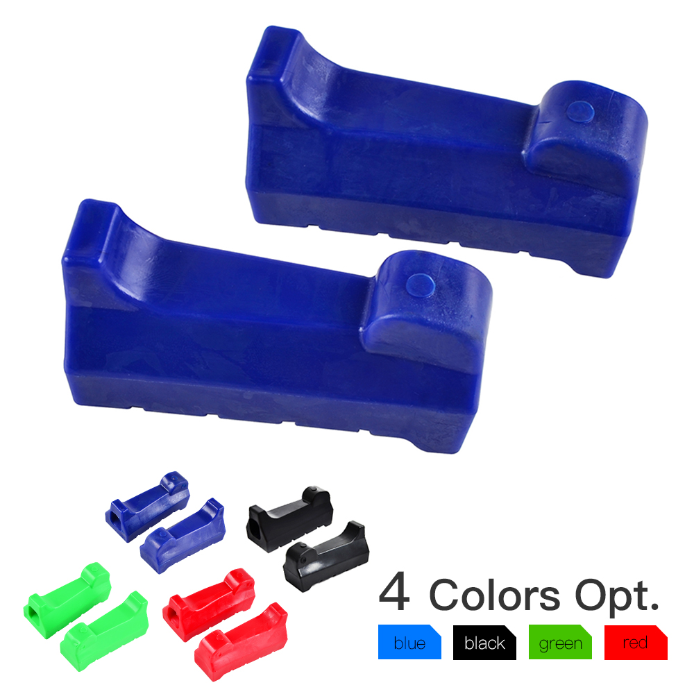 Front Foot Pegs Motorcycle Rubber For Yamaha YBR125 YBR 125 All Years Motorcycle Accessories Parts Blue Blakc Red Foot Rests #99
