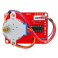 Frete grátis! 1 CONJUNTO de 5 V módulo para Arduino ULN2003 unidade (vermelho)