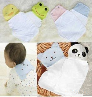 NEW Big Size Cotton Yarn Sweat Towels For Baby Kids Baby Cartoon Back Towels Mixed-Designs In Stock Baby Products Free Shipping