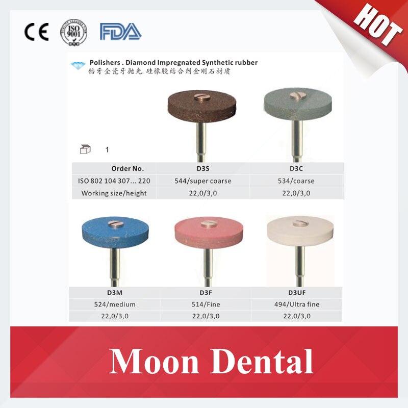 5 stuks/partij Tandheelkundige Polijsten Gereedschap Diamantslijper (Super Grof, Medium of Fijn) voor Zirconia en Alle soorten Keramiek-in Huidverzorgingshulpmiddelen van Schoonheid op  Groep 3