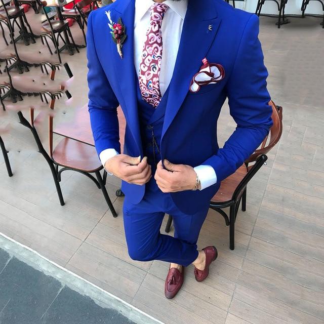 Color Smokings Sur Pièce Un Revers Picture as A Mariage Masculin Gilet Fit Pantalon Blazer Sommet Picture De Terno custom Costume Slim Hommes Mesure Masculino Veste Atteint As 3 tpndqq1