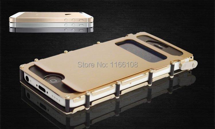 Цена за Нержавеющая сталь флип Железный человек чехол для iPhone 5 5S 5C iPhone SE чехол телефона случаях охватывает защитную оболочку кожи Сумка