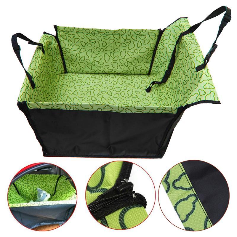 Waterproof Single Dog Seat Cover Pet Rear Carrier Mat Blanket Dog Car Seat Back Protector Safe Dog Accessories Hammock 9