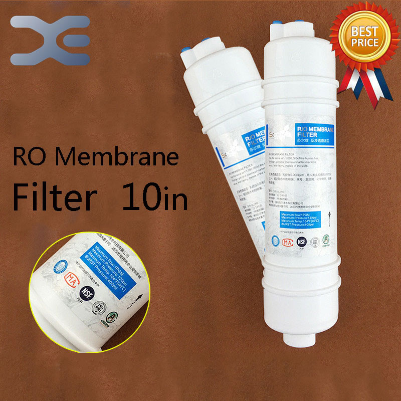 High Quality 10in One Fast Access 75 Gallon RO Reverse Osmosis Filter Straight Drinking Fountains Household Water Purifier Filte 1 4   chrome drinking ro water filter