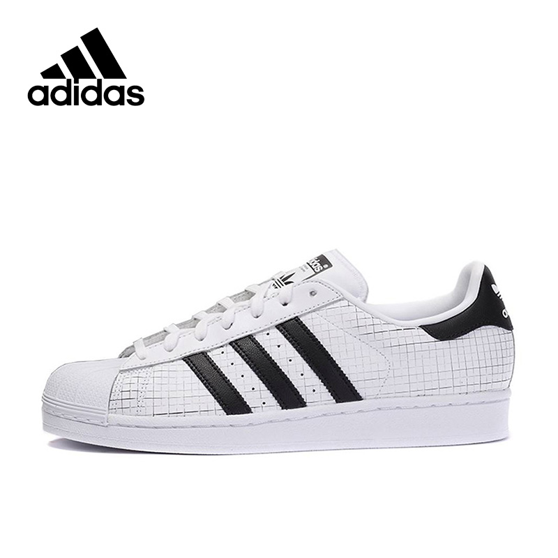 Genuine Adidas Sneakers Originals Black Stripe Men Lace-up PU Sports Skateboarding Shoes Low-top Genuine Adidas Sneakers for Men adidas samoa kids casual sneakers
