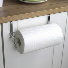 stainless steel paper towel rack for kitchen toilet bathroom storage storage racks hanging paper towel holder stand nonfolding