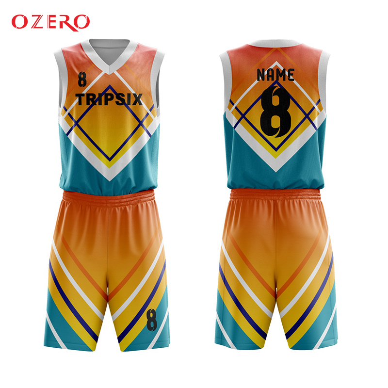 separation shoes 59227 0c502 US $140.0 |high quality hot sale custom men's sleevele v neck full  sublimation basketball jerseys-in Basketball Jerseys from Sports &  Entertainment on ...