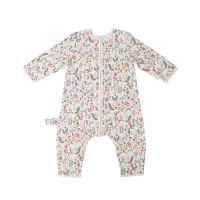 Housbay Hot Sale 100% Cotton Baby Sleepsacks Muslin Summer Baby Sleeping Bag and Infant Sleep Clothes with Printing for Gift Box