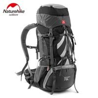Naturehike открытый рюкзак 70L кемпинг рюкзаки Альпинизм сумка мужская женская спортивная сумка дорожные сумки водостойкий рюкзак