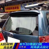 Acessórios do carro Plástico ABS Unpainted Primer Cor Traseiro Trunk Bota Lip Spoiler Asa Para Subaru Forester 2008 2009 2010 2011 2012