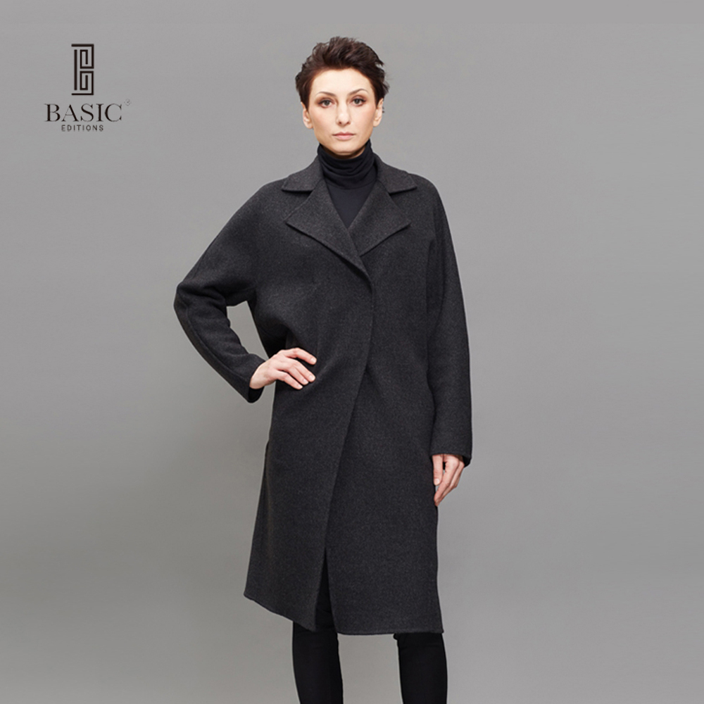 Online Buy Wholesale grey wool coat women from China grey wool ...