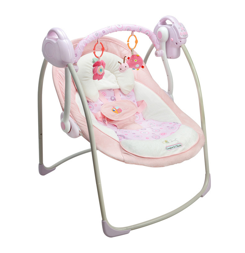 Portable Electric Baby Rocking Chair Infant Toddler Cradle