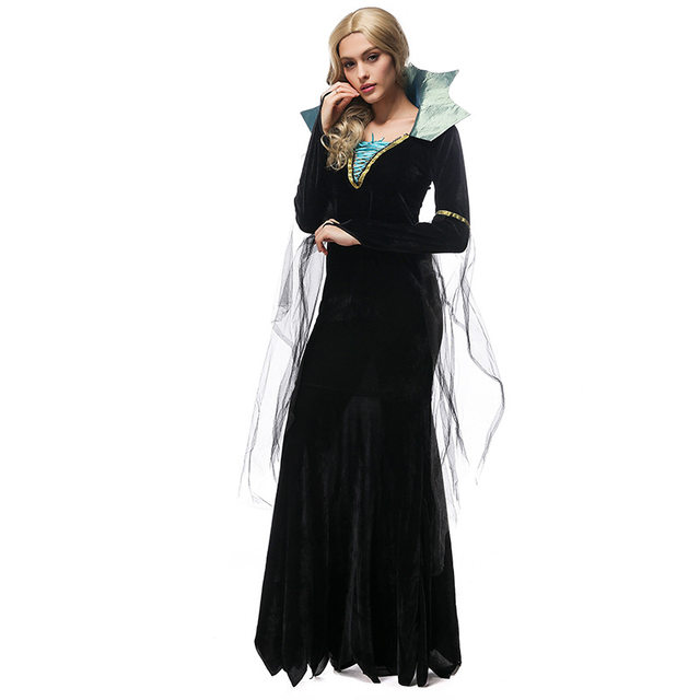 Online Shop Sexy Halloween Custumes For Women Luxury Vampire Costumes Queen Sexy  Devil Masquerade Cosplay Costumes Victorian Period Costumes | Aliexpress ...