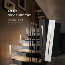 Modern Recessed 3W CREE LED Stair Light Rectangle Indoor LED wall Sconce lighting Stairs Step stairway Hallway staircase lamp