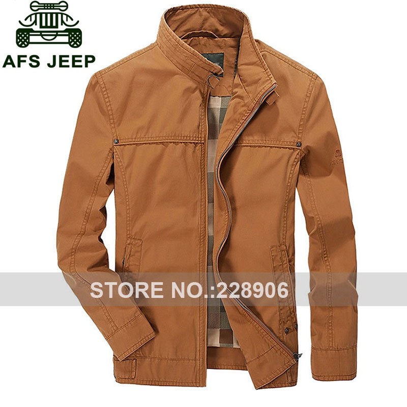 M~3XL 2017 Autumn Brand CLOTHES Cargo ORANGE Jackets Men Casual ...