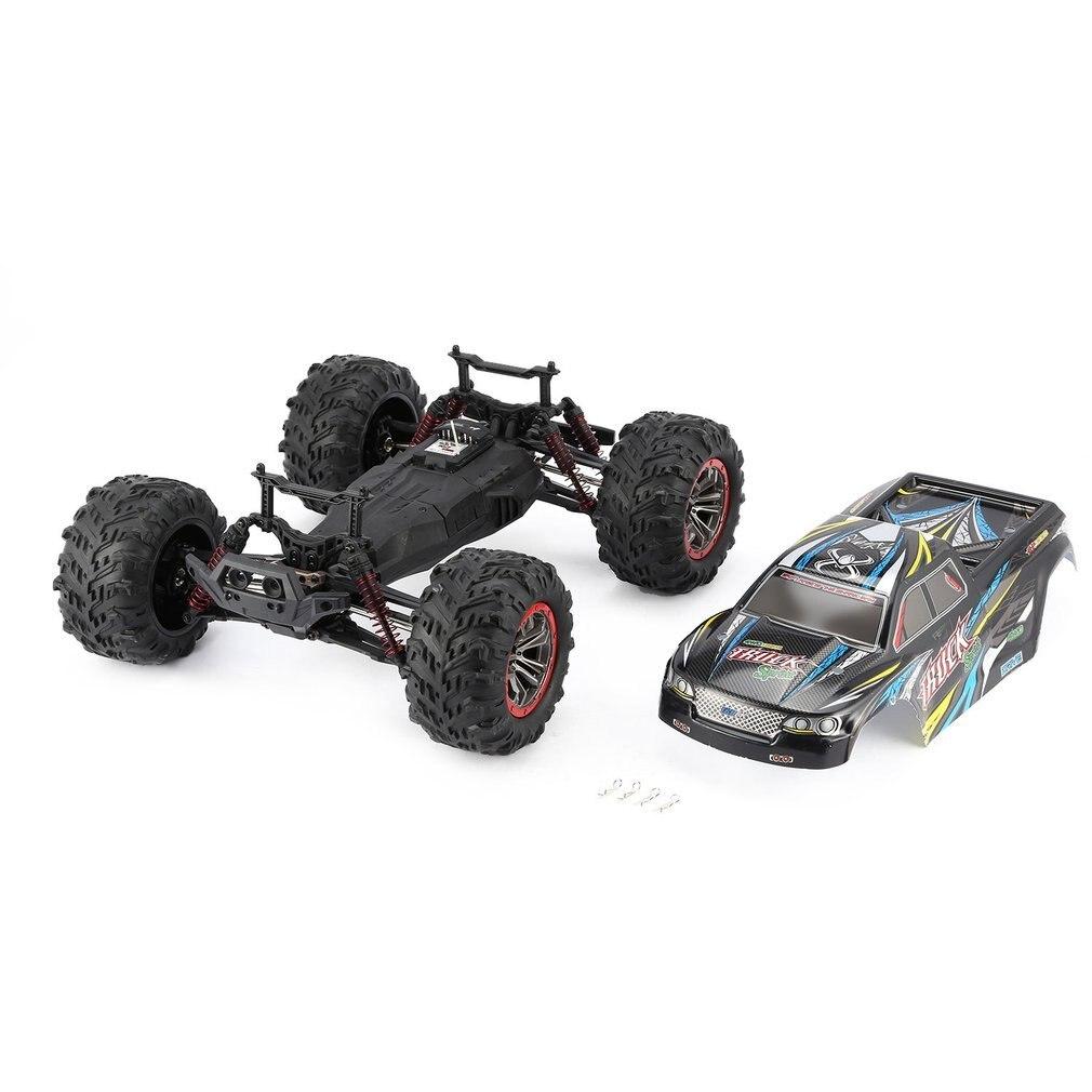 Высокое качество 9125 4WD 1/10 RC гоночный автомобиль с высокой скоростью 46 км/ч Электрический сверхзвуковой грузовик внедорожник багги игрушки РТР - 5