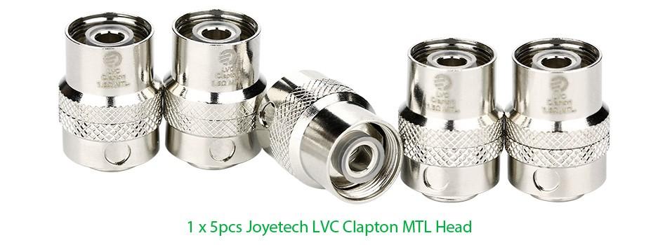 5pcs Joyetech LVC Clapton MTL Head for CUBISCUBIS ProeGO AIO 1