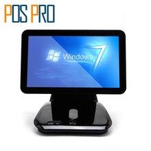 IZP037 Caisse Enregistreuse Windows POS Système Capacitif Écran Tactile Tout en un POS pour Restaurant/Supermarché/Boisson/lait/Thé Boutique