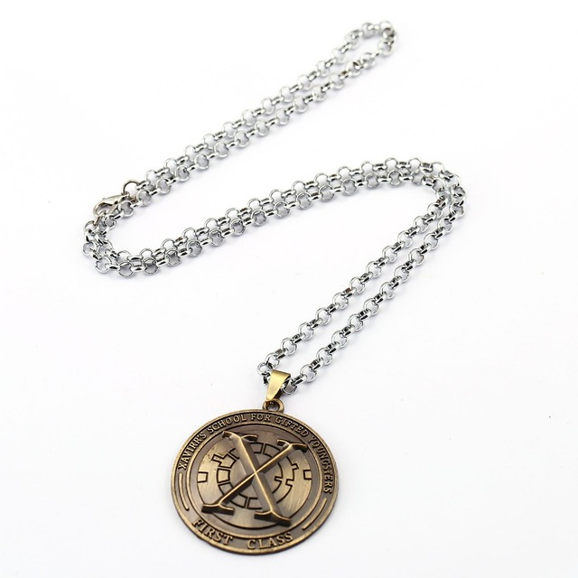 X-Men Choker Necklace X men Pendant Men Women Gift Movie Anime Jewelry Accessories