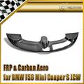 Carro-F56 styling Para BMW Mini Cooper S JCW Estilo Fibra de Carbono Roof Spoiler Asa Tronco