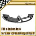 Coche-F56 de estilo Para BMW Mini Cooper S JCW Estilo Carbon Fiber Roof Spoiler Baul Wing