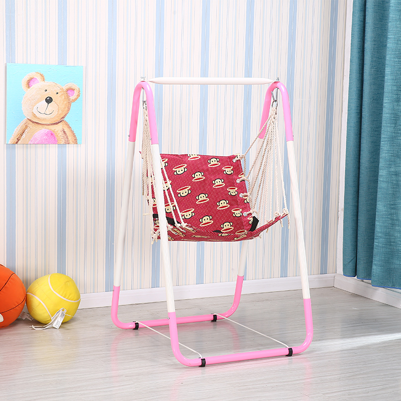 Indoor&Outdoor Safe Healthy Swing For Kids Toys for Children Baby Low Back Basket Fun Crazy Games Leisure Time