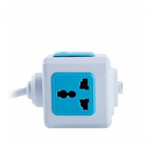 Image 2 - Smart Home PowerCube Socket EU / US / UK Plug 4 Socket 2 USB Port Adapter Power Outer Extension Adapter Universa 4 Jack Socket