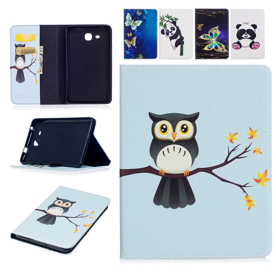 for Samsung Galaxy Tab A 7.0 2016 T280 Case Tablet Flip Cover Wallet Slim Fold Stand Lea ...