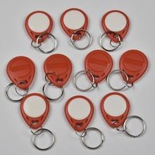 10pcs T5577 EM4305 Copy Rewritable Writable Rewrite Duplicate RFID Tag Can Copy EM4100 125khz card Proximity Token Keyfobs
